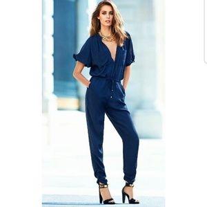 H&M Navy Pant Jumpsuit